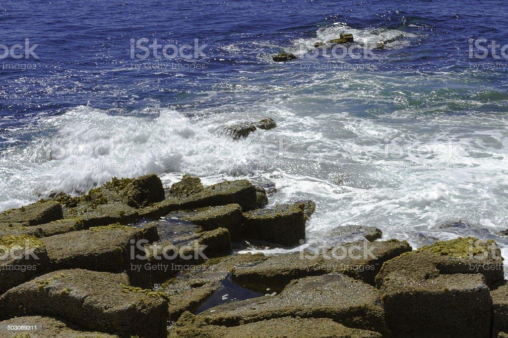 Staffa Isle stock photo