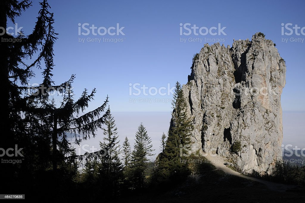 Staffelstein, a mountain in Bavaria stock photo
