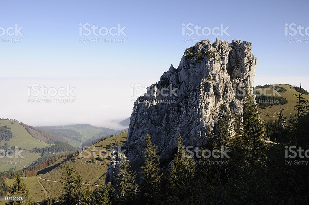 Staffelstein, Bavaria, Germany stock photo