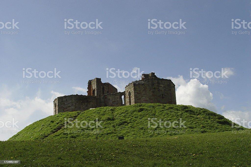 Stafford Castle, England stock photo