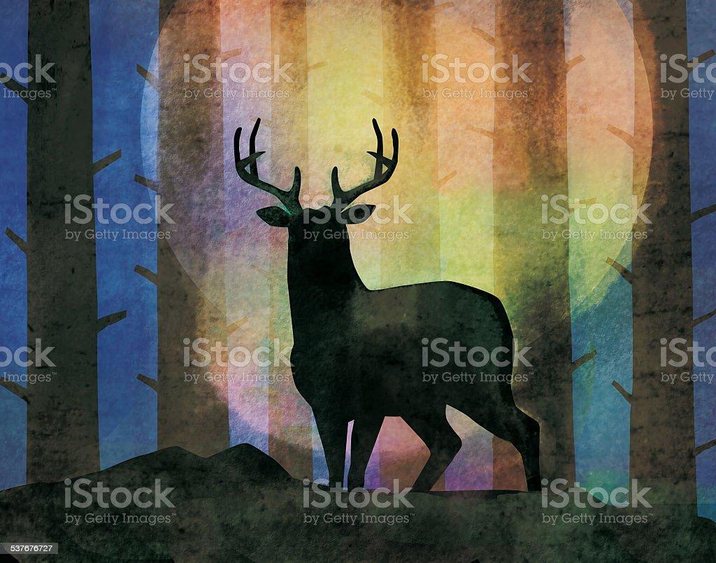 stag stock photo