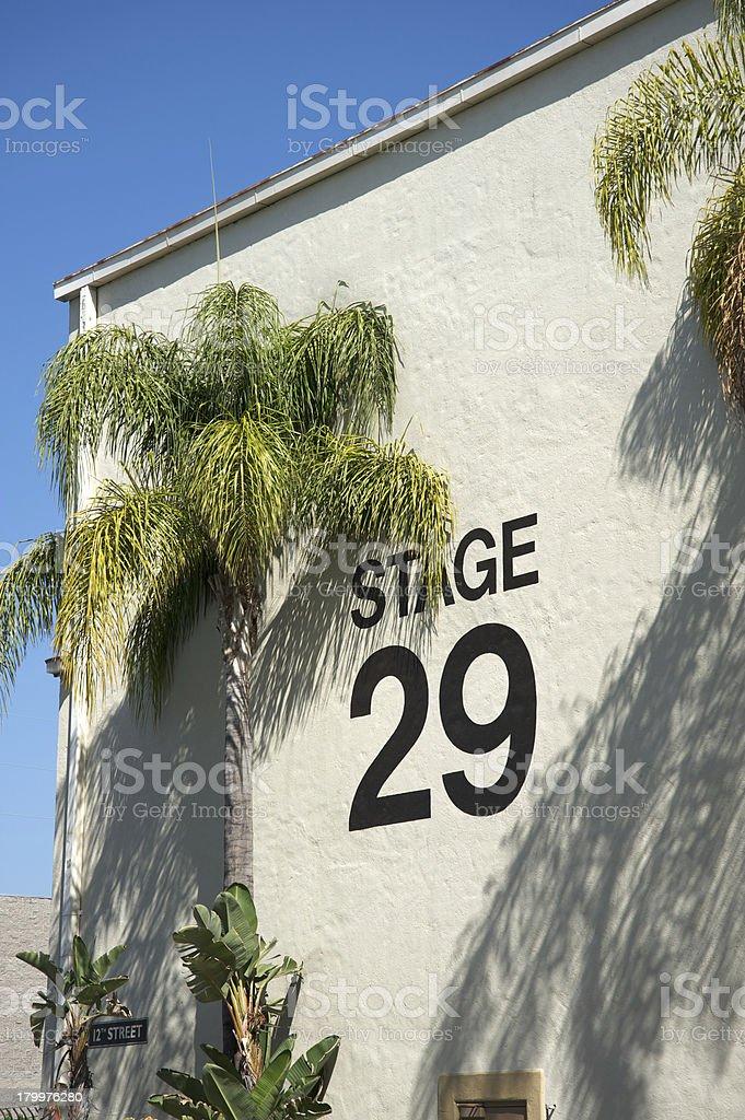 Stage 29 movie studio royalty-free stock photo