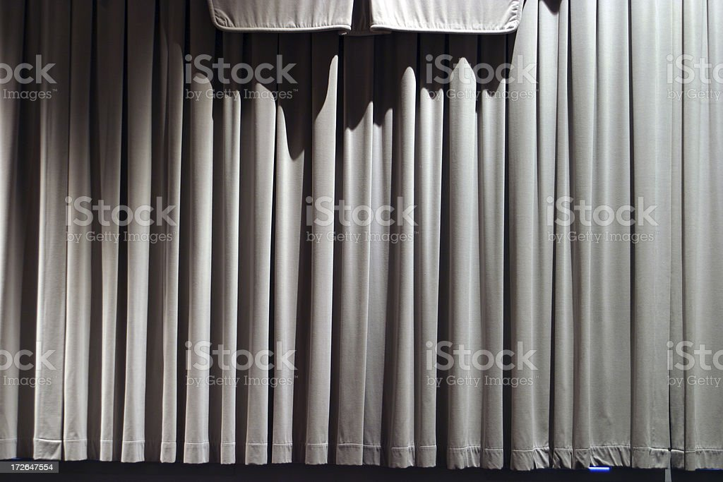 Stage Curtain 5 royalty-free stock photo