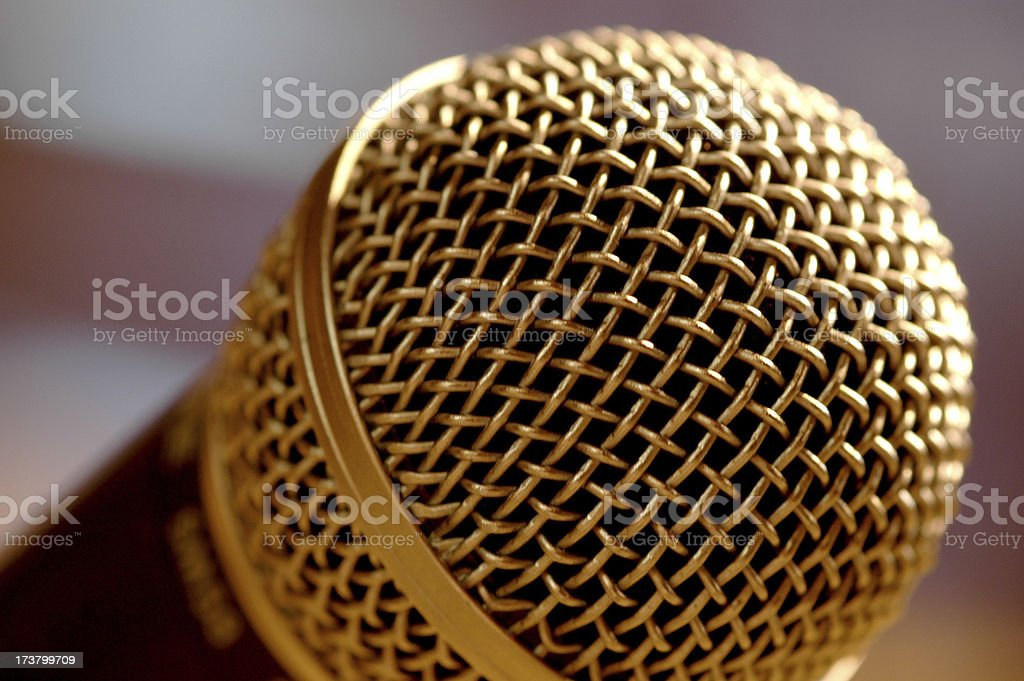 stage fright stock photo