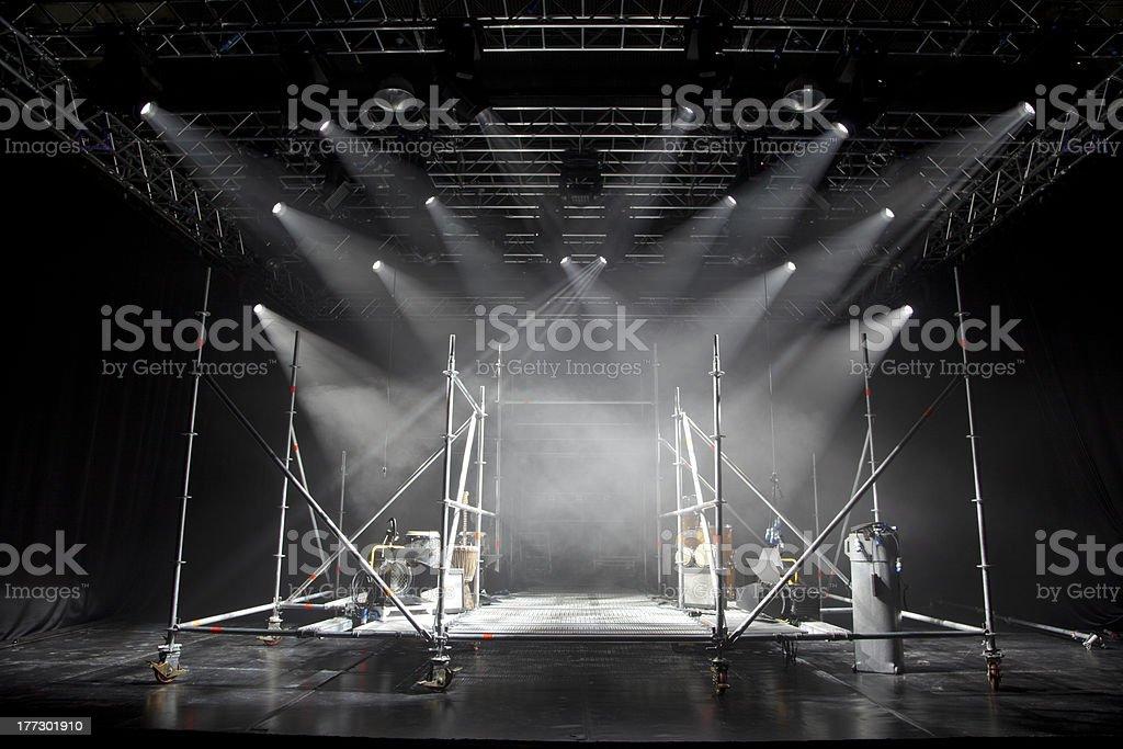 Stage Light stock photo