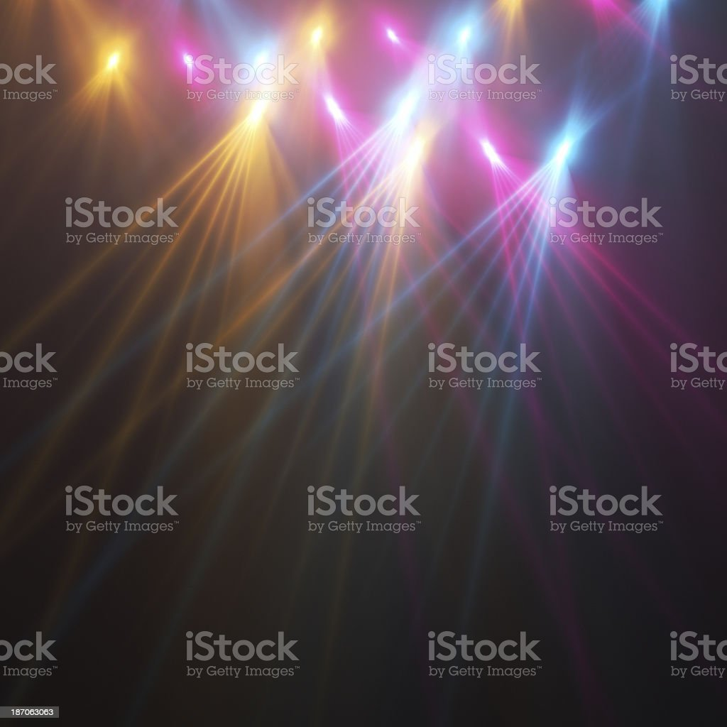 Stage Light royalty-free stock photo