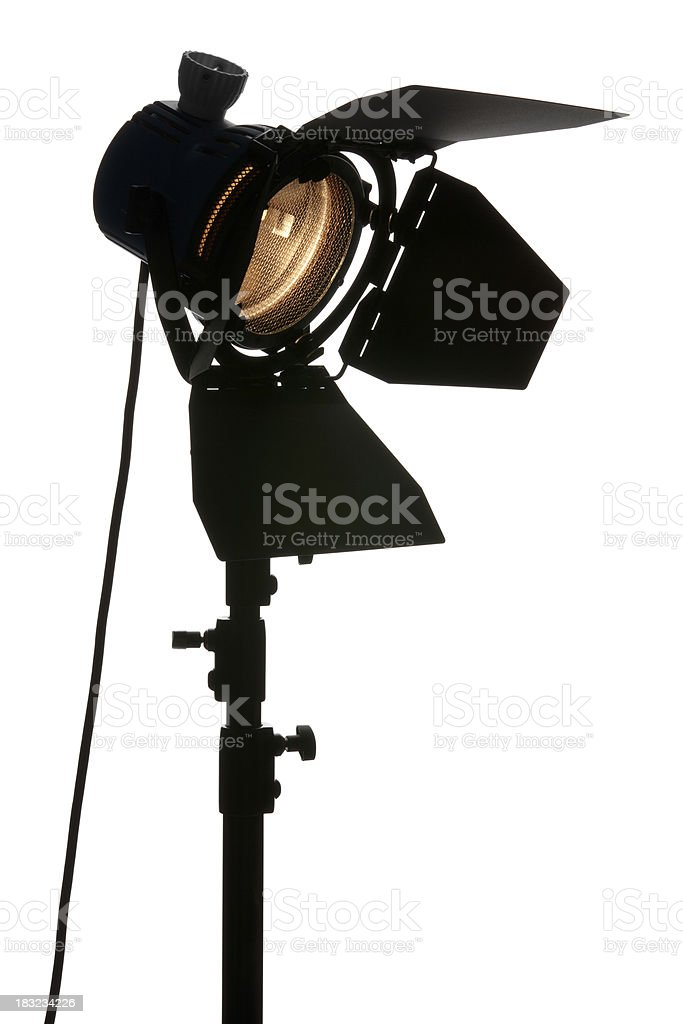 Stage Light Tilted royalty-free stock photo