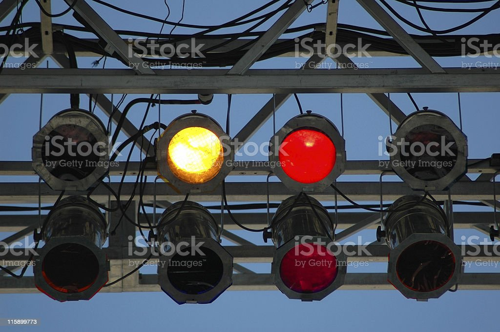 Stage Lighting royalty-free stock photo