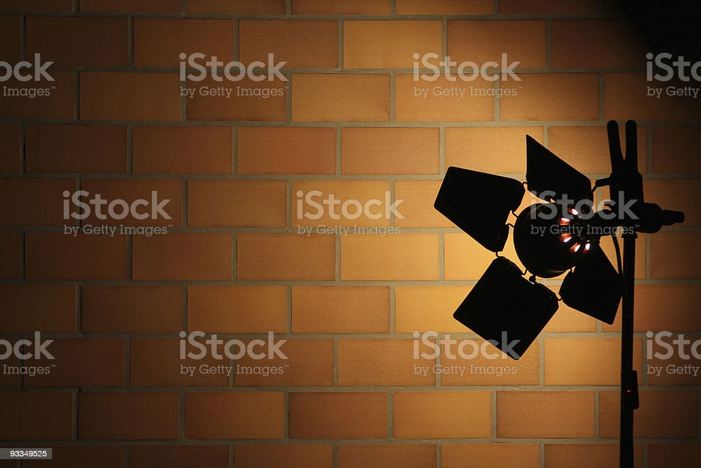 Stage Lights Series royalty-free stock photo