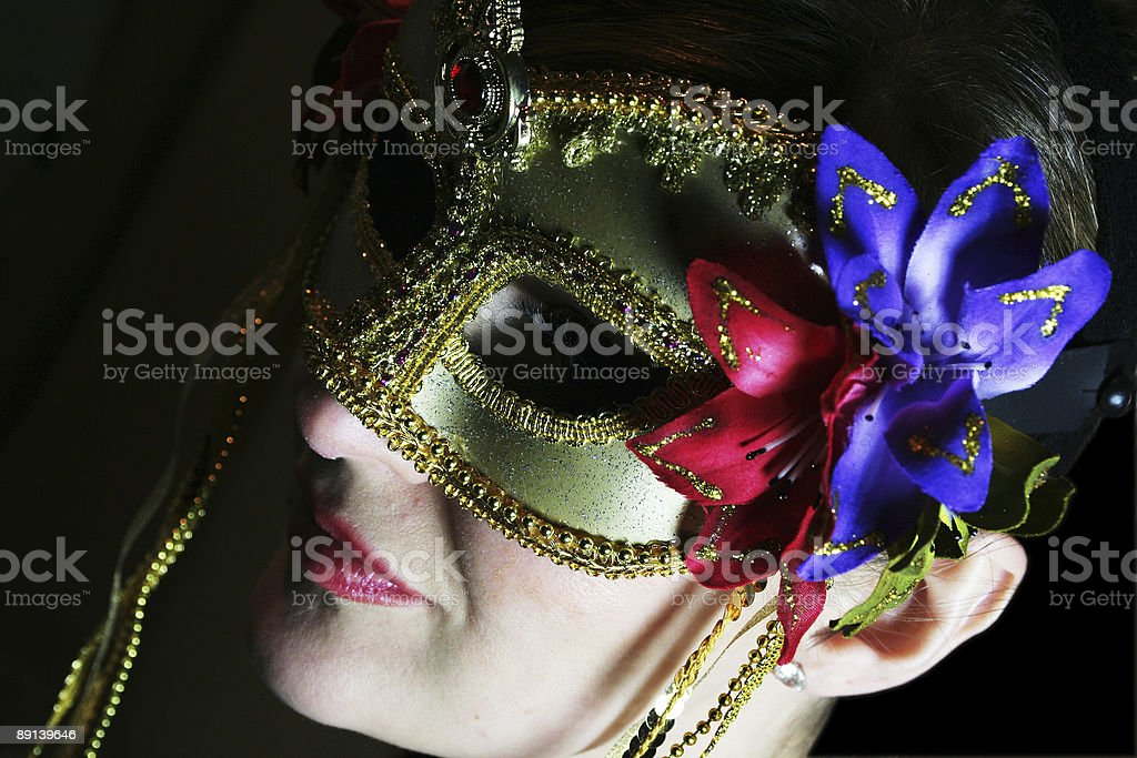 Stage Mask royalty-free stock photo
