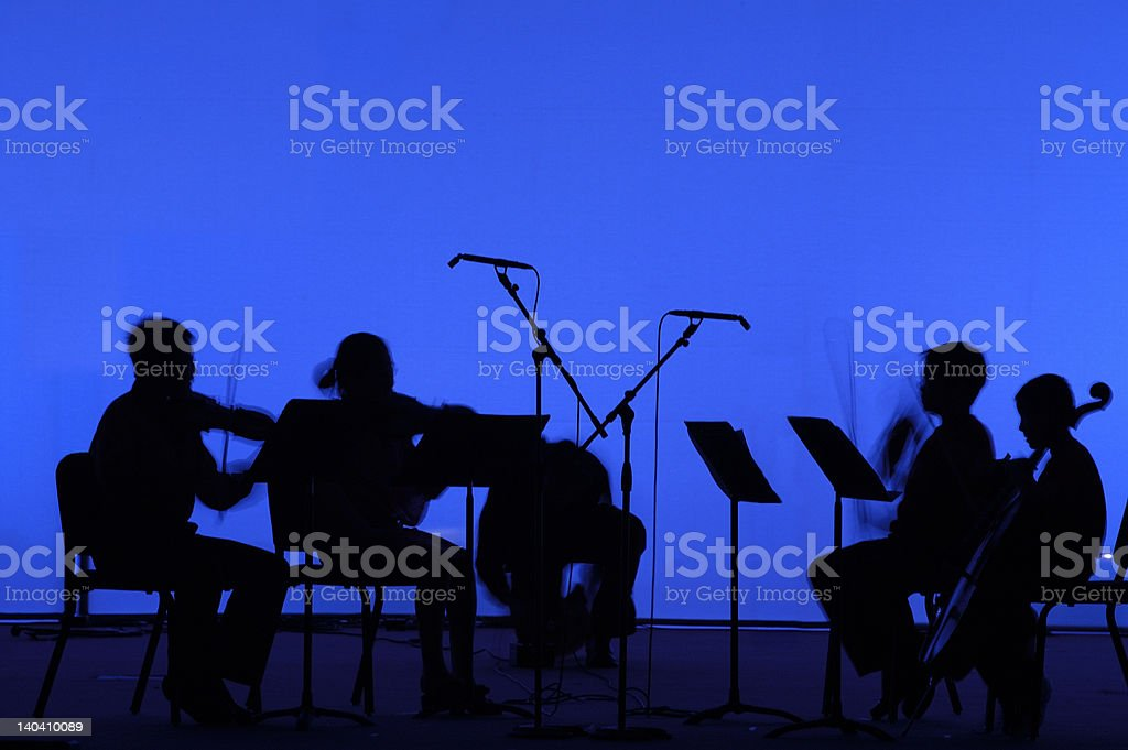 Stage outline royalty-free stock photo