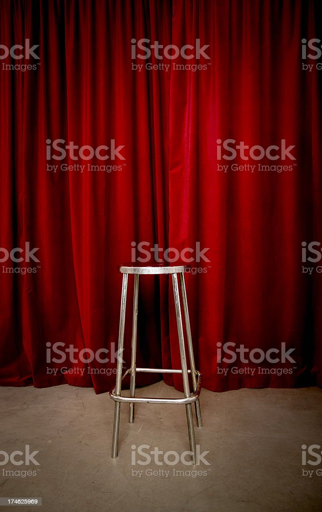 Stage stock photo