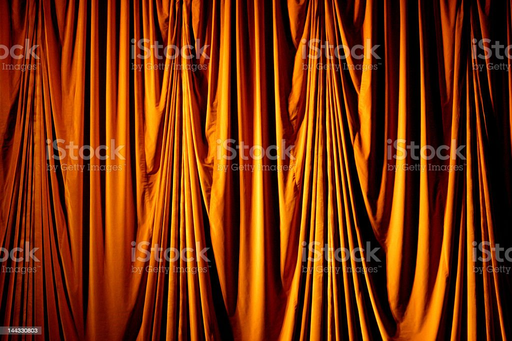 stage theater curtain stock photo