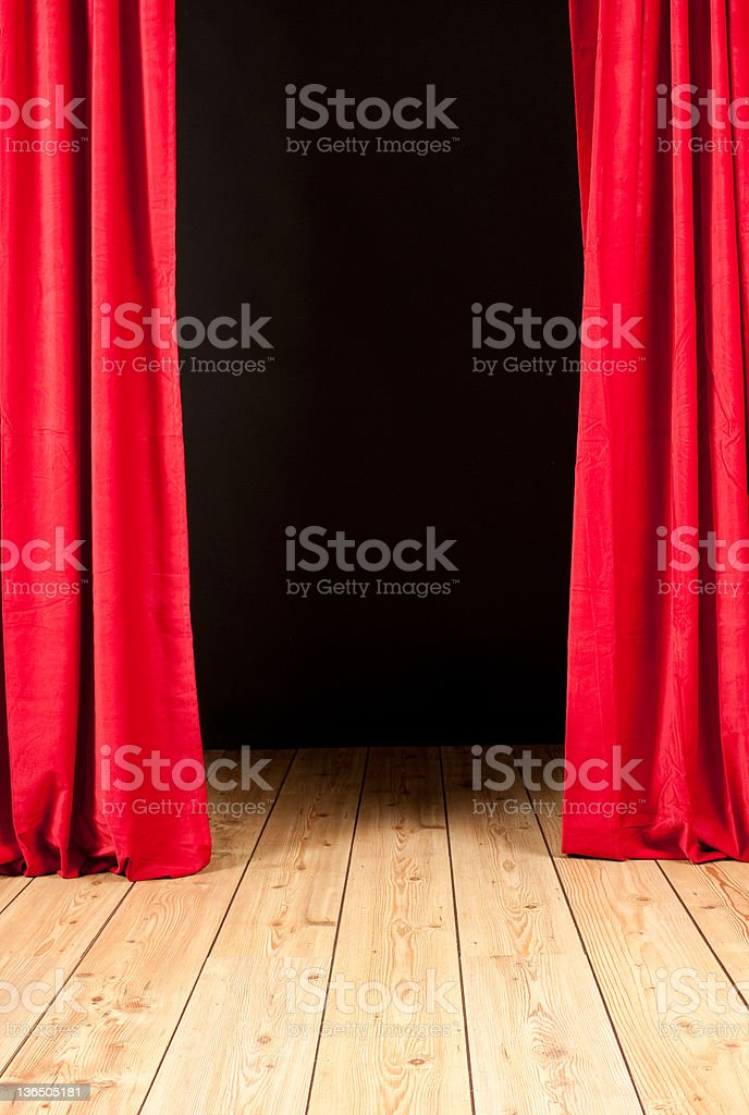 stage theater royalty-free stock photo