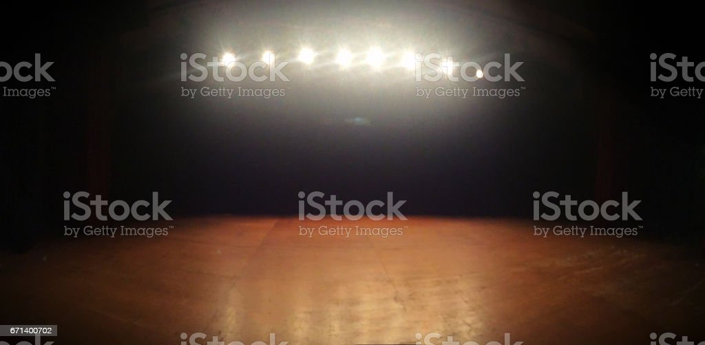 Stage Theather Image Concept. stock photo