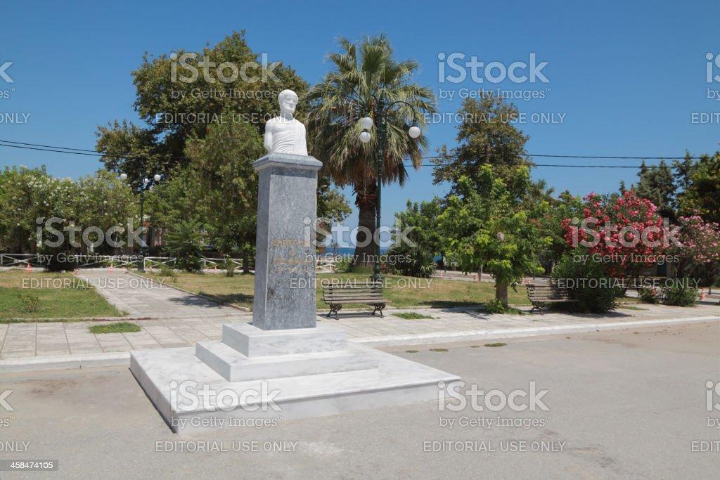 Stageira Greece stock photo