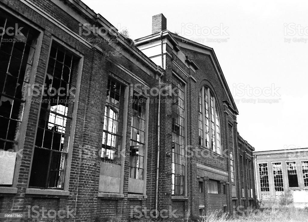 Stahlwerk stock photo