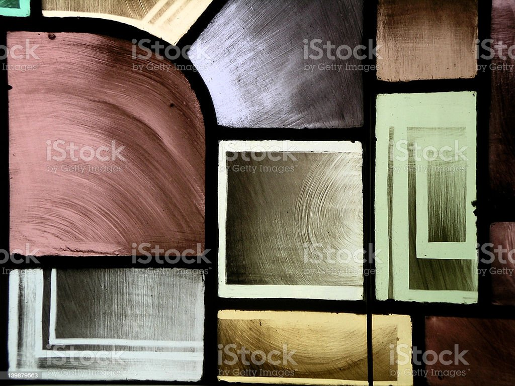 Stain Glass Window I royalty-free stock photo