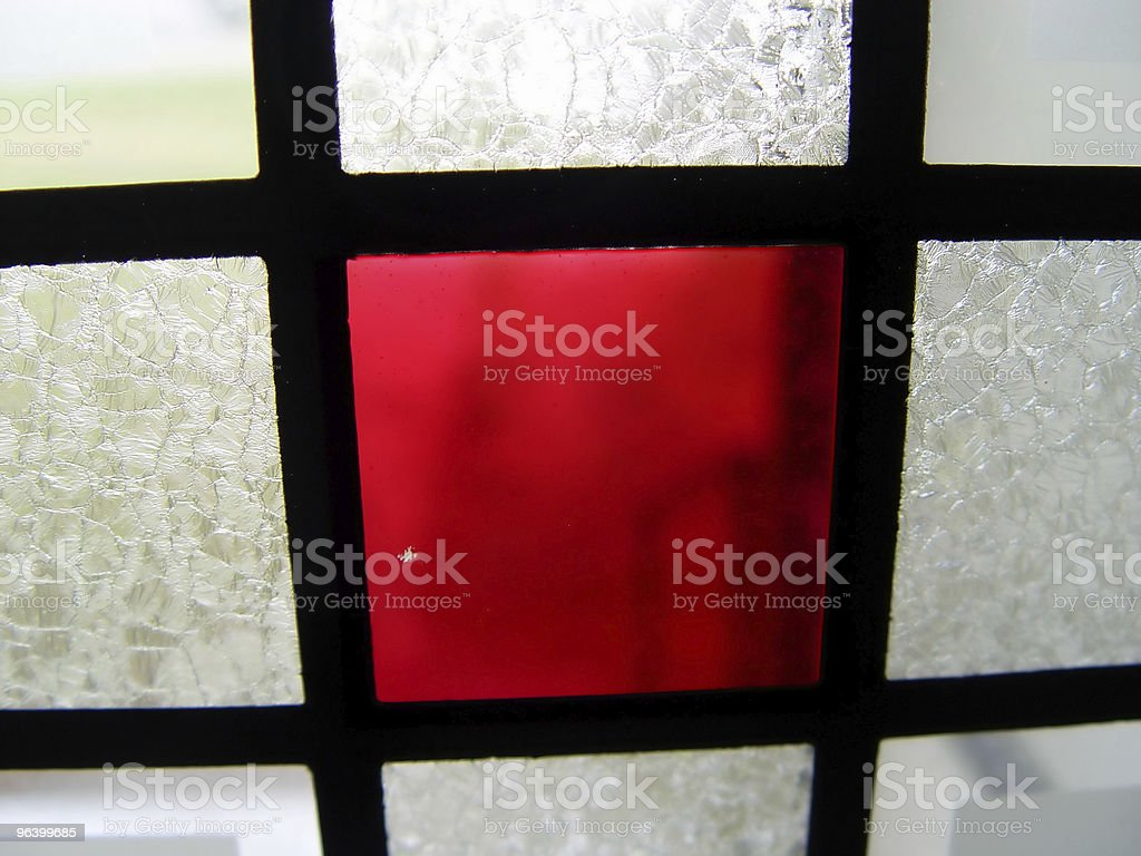 Stain Glass Window royalty-free stock photo