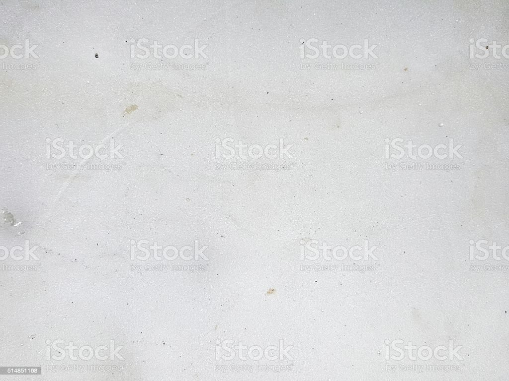 stain on the white cement wall texture stock photo