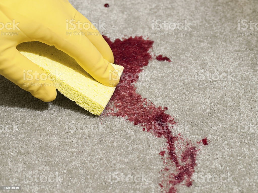 Stain stock photo