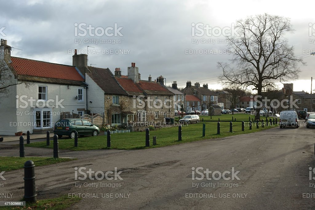 Staindrop village royalty-free stock photo