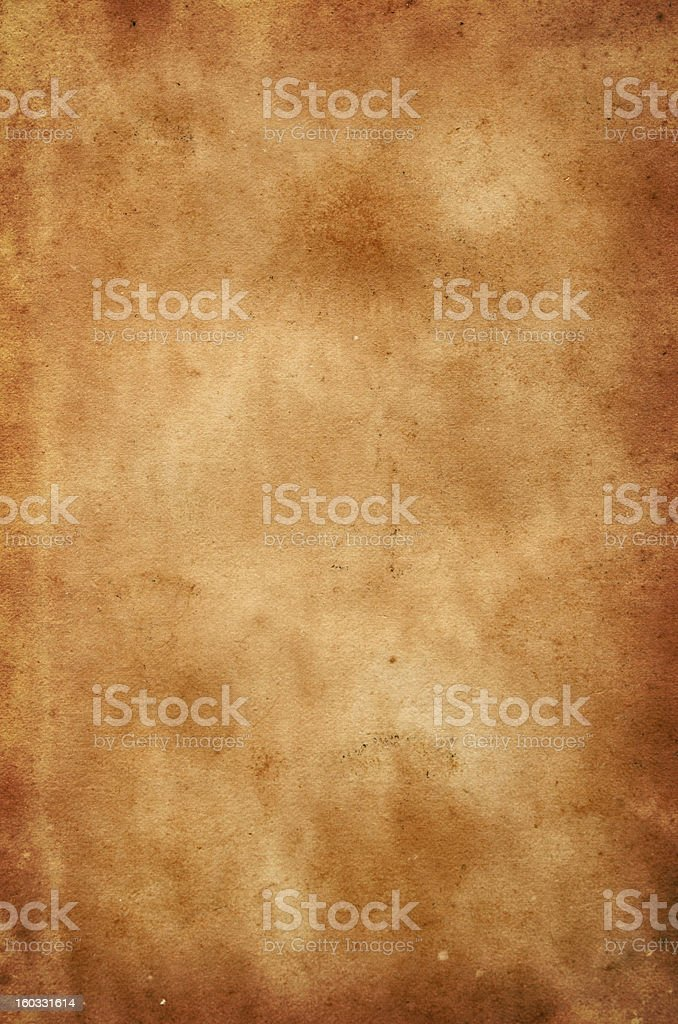 Stained antique paper background royalty-free stock photo