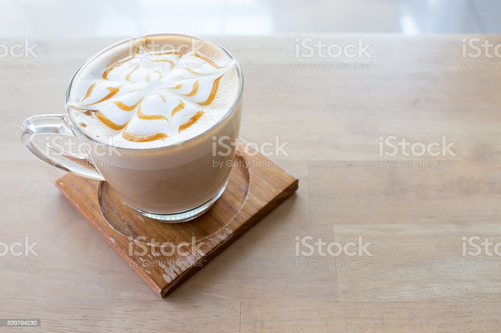 Caramel Macchiato stock photo