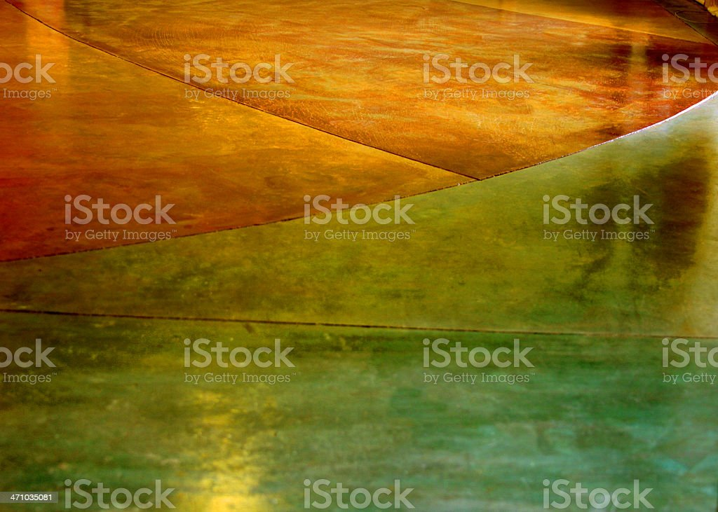 Stained Concrete Floor 2 royalty-free stock photo