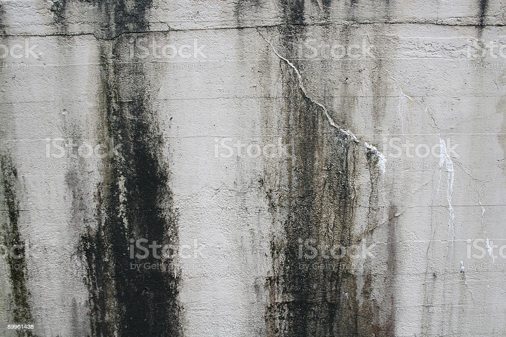 Stained Concrete Wall royalty-free stock photo