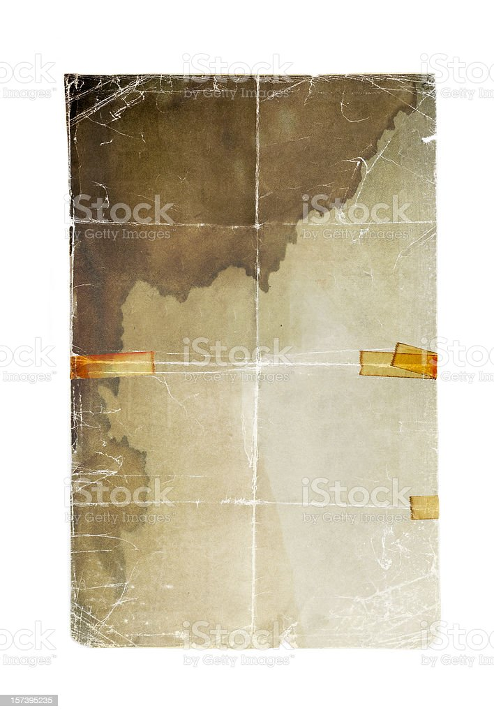 Stained Creased Background Poster royalty-free stock photo