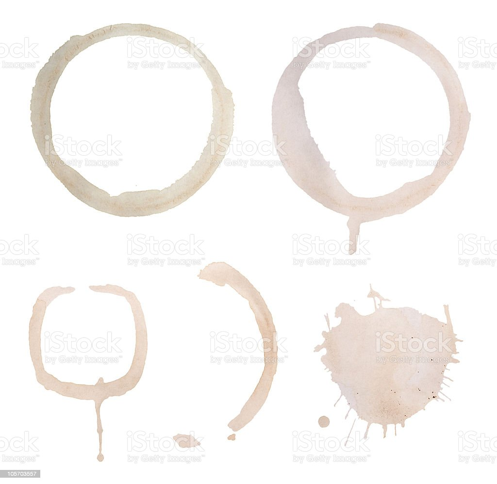 Stained Design Elements stock photo