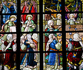 Stained Glass - Angels and Women