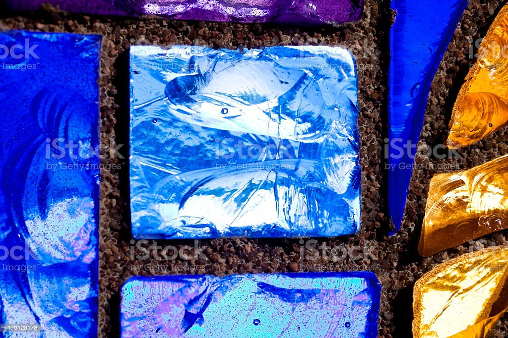 Stained glass background royalty-free stock photo