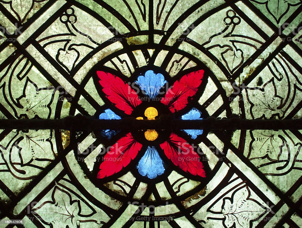 Stained Glass Design stock photo