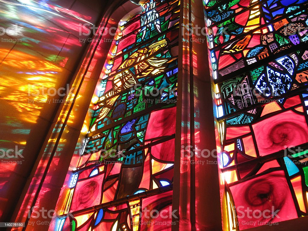 Stained Glass Glory royalty-free stock photo