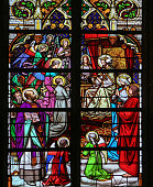 Stained Glass - Jesus in Paradise