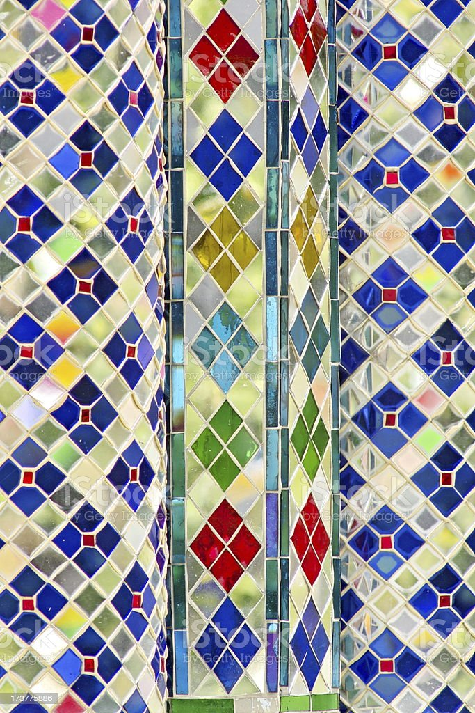 Stained glass. stock photo