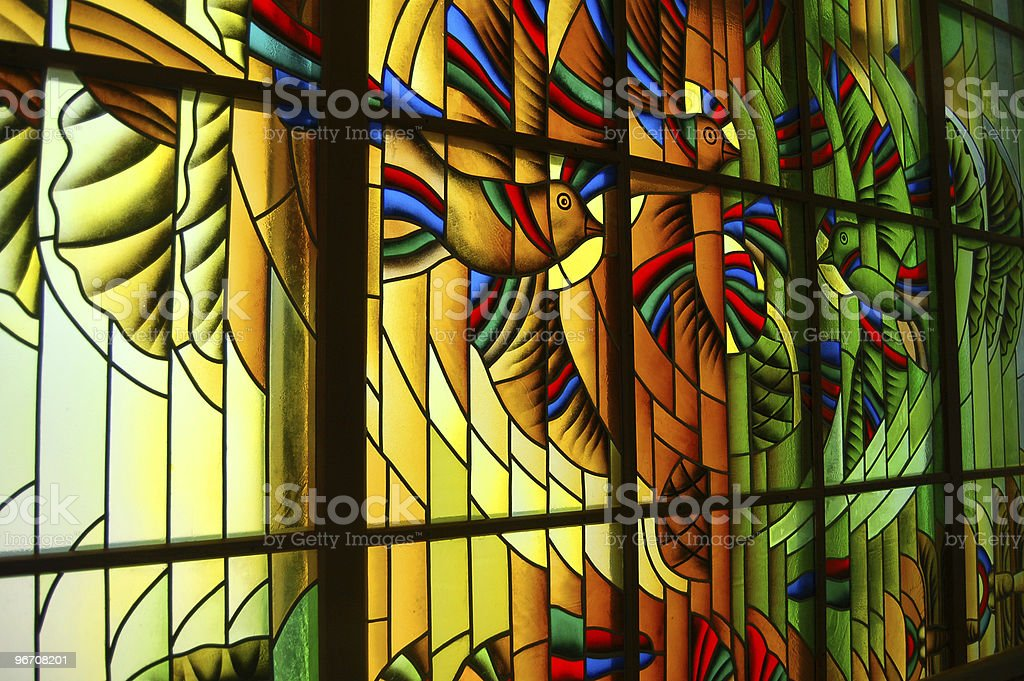 Stained glass royalty-free stock photo