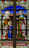 Stained Glass - Saint Ana and Saint Elisabeth
