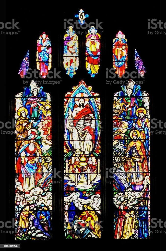 Stained Glass Windows 2 royalty-free stock photo