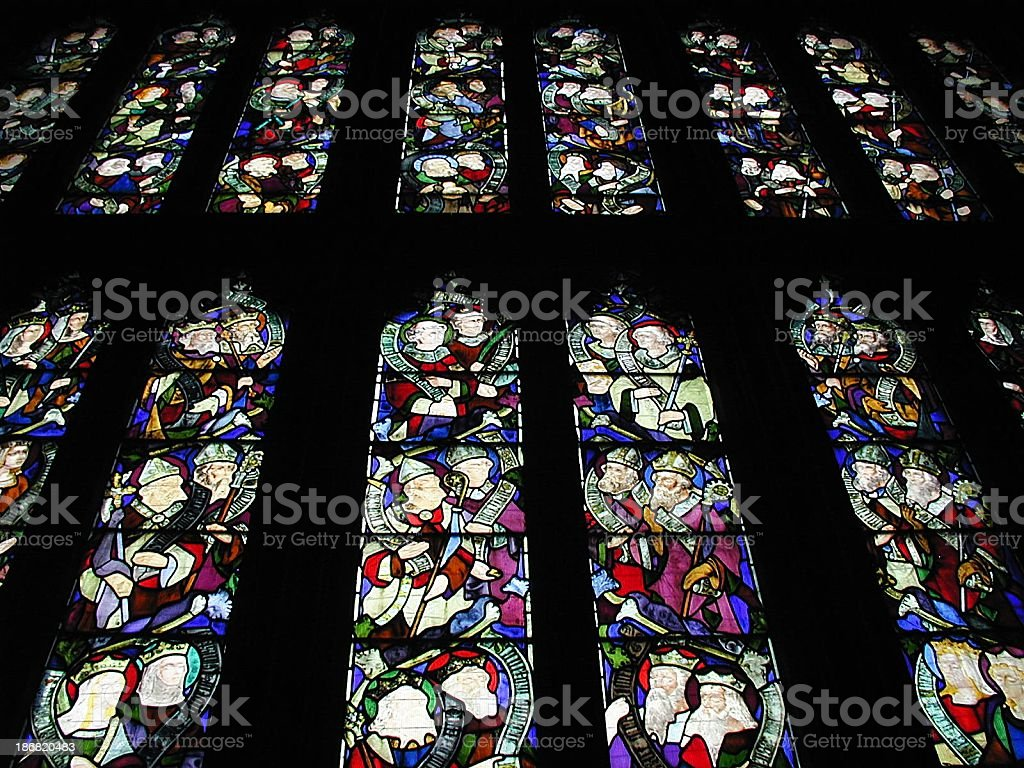 Stained Glass Windows 3 royalty-free stock photo