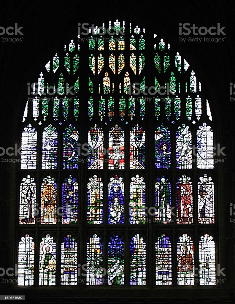 Stained Glass Windows 5 stock photo