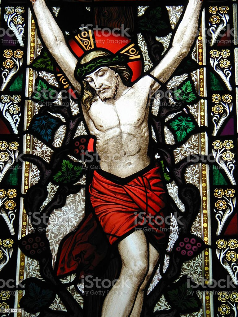 stained glass zwei royalty-free stock photo