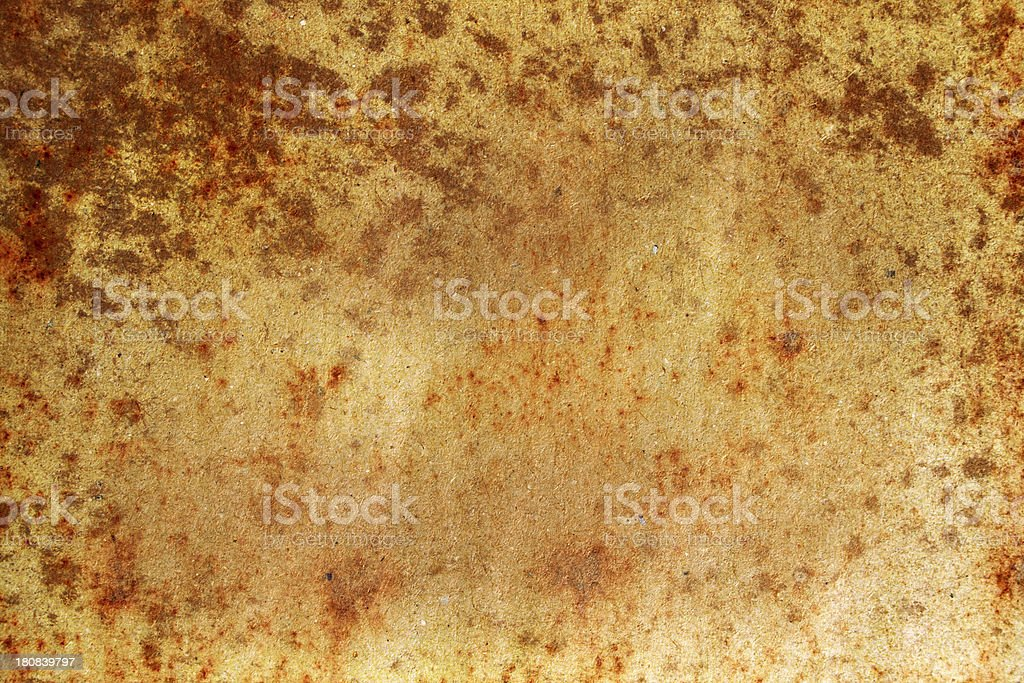 Stained grunge paper royalty-free stock photo