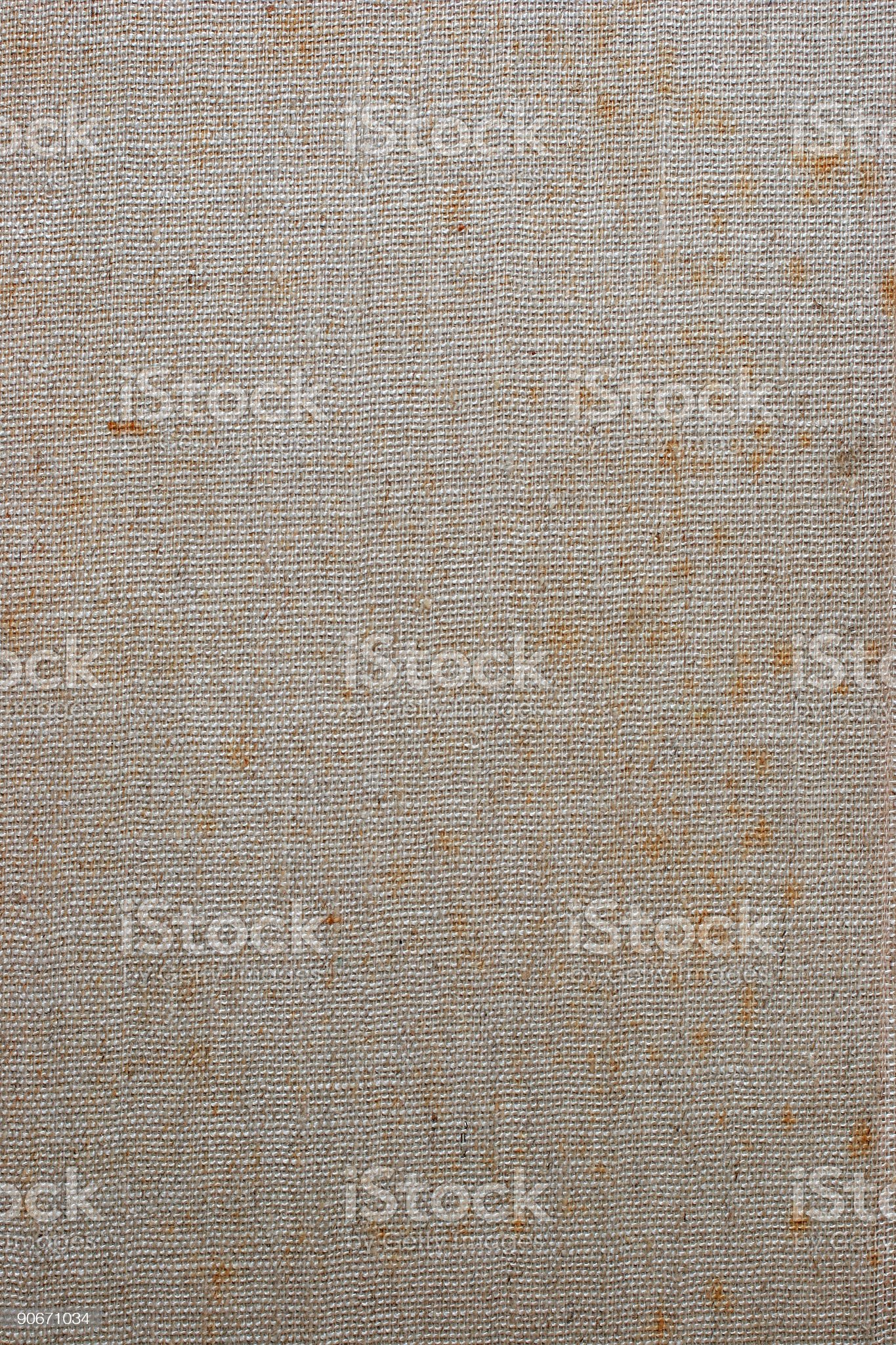 Stained Linen Background royalty-free stock photo