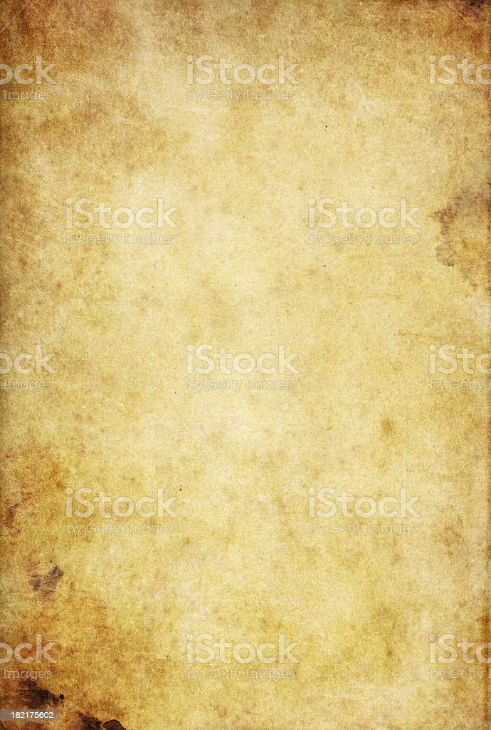 stained old paper stock photo