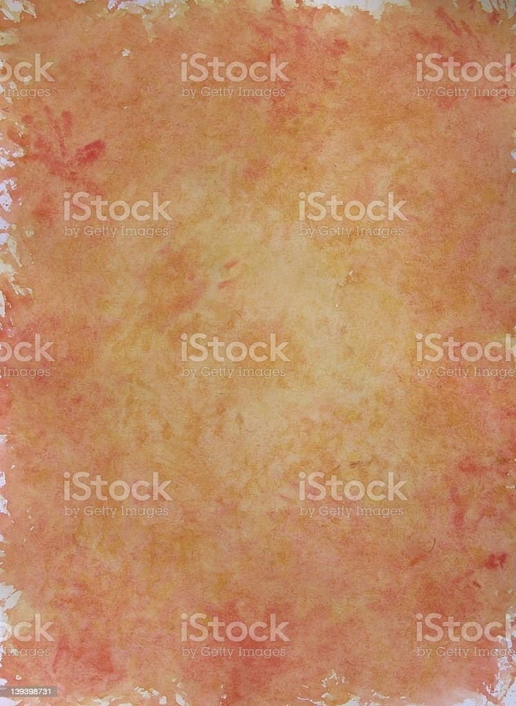Stained paper texture stock photo