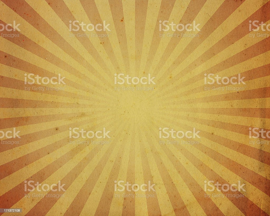 High resolution stained paper with starburst pattern vector art illustration