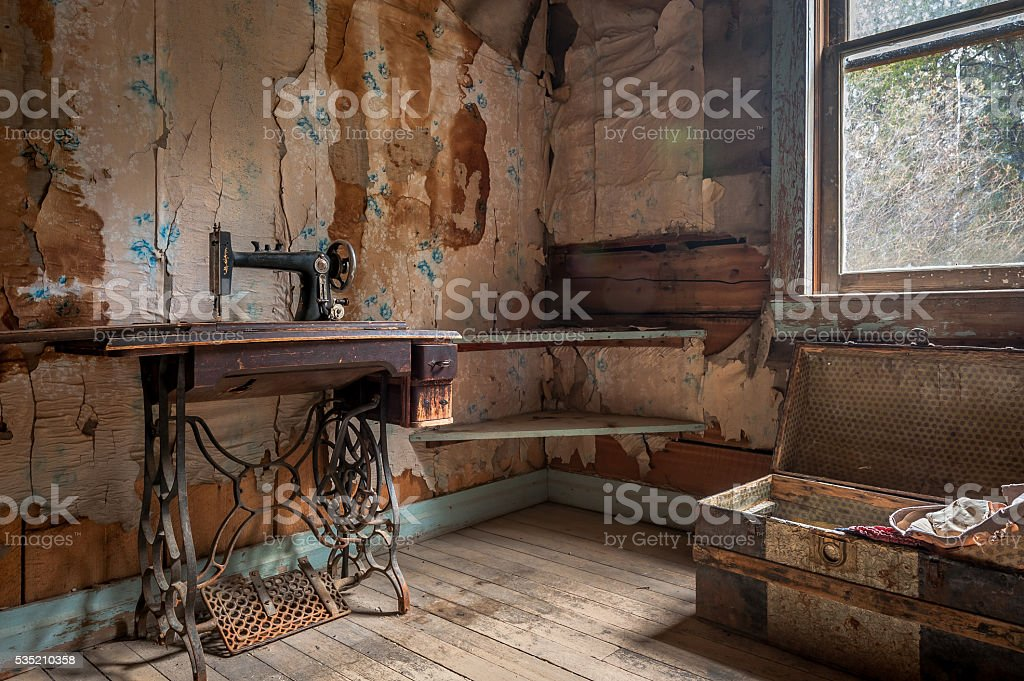 Stained stock photo